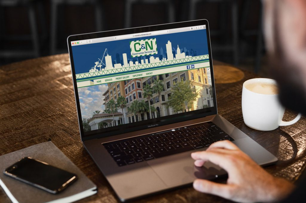 C & N Construction Website