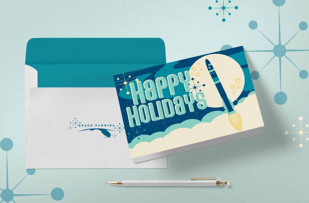 Space Florida 2017 Holiday Card